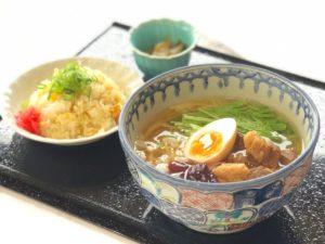 【新メニュー】三田ポークの角煮 塩ラーメン