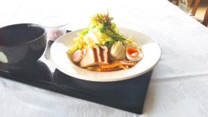 【新メニュー】三田ポークの冷やしつけ麺