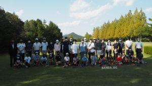 夏休みファミリーゴルフ IN SANDAを開催しました。